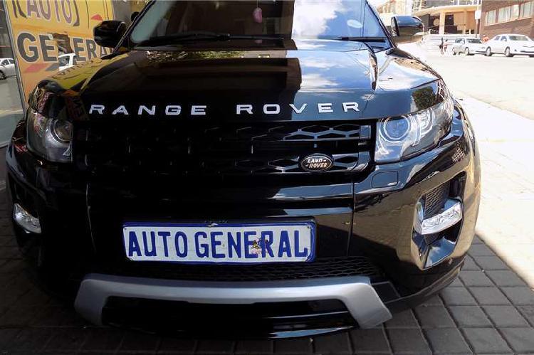 Land rover range rover evoque autobiography sd4 2014