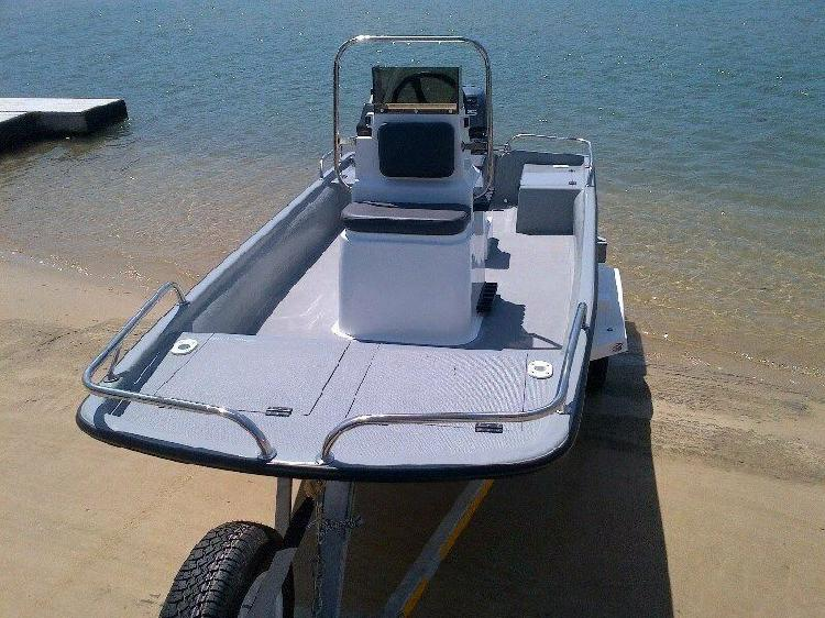 Cathedral hull, utility boat, 3.8m by jamieson boats &