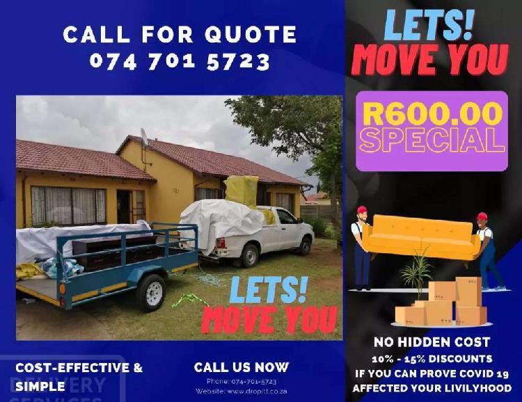 Furniture removal company (r600).