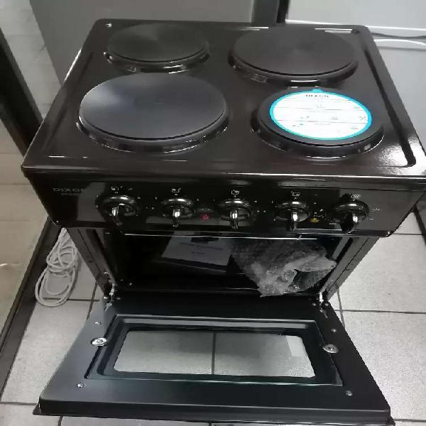 Dixon 4 plate electric stove n oven new, ab or abraham