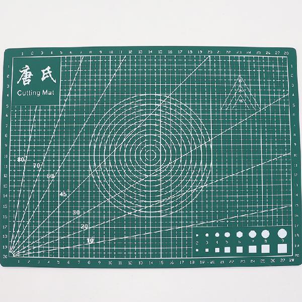 Tangshi a4 grid self healing cutting mat durable pvc craft