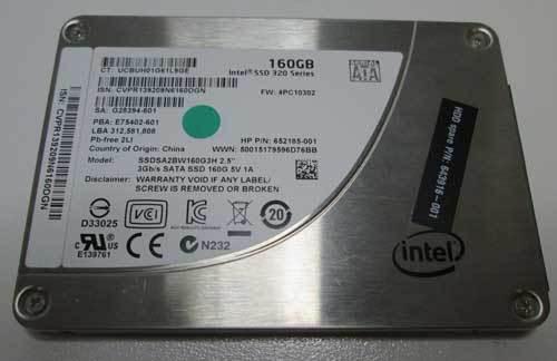 Bargain] intel ssd 320 series 160gb, 2.5 *160gb* solid