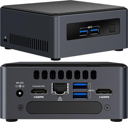 Intel nuc7-i3dnhe nuc (next unit of computing) -