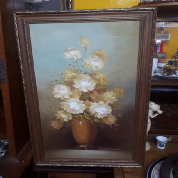 Original oil on board by deceased american artist robert cox