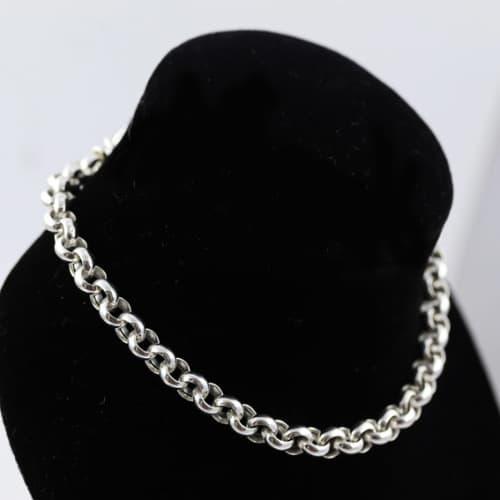 Classic belcher (rolo) link chain italian sterling silver