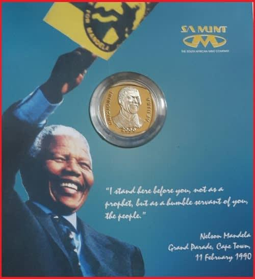 Last 2 in stcok**rare*sa mint sealed*nelson mandela highly