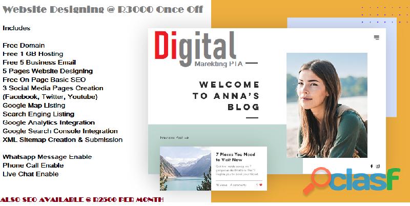 Web design company in pretoria