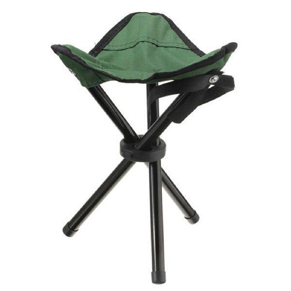 Camping hiking fishing picnic bbq folding foldable stool