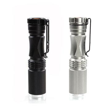 Meco xpe-q5 600 lumen 7w zoomable led flashlight for 1xaa