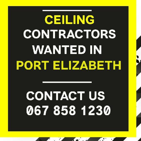 Ceiling contractors   port elizabeth