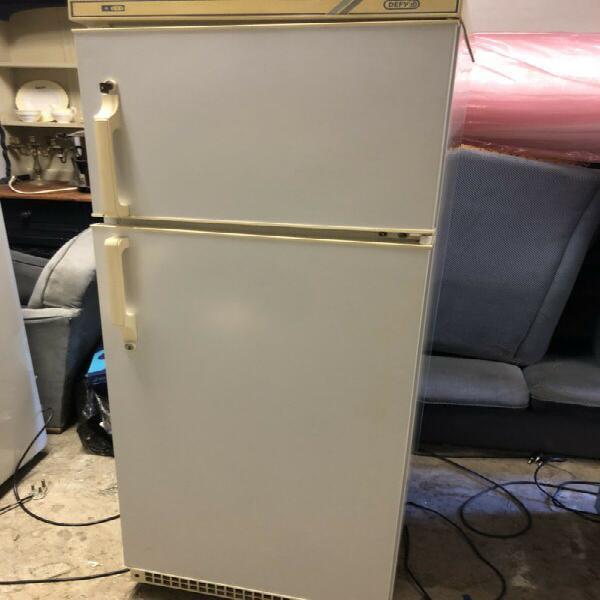 Fridge freezer - defy 255 litres (small / medium) in white -