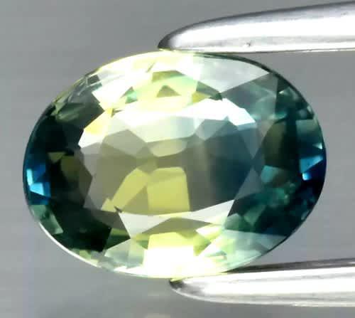 Lab guarantee | oval cut | 0.65ct | natural tri colour