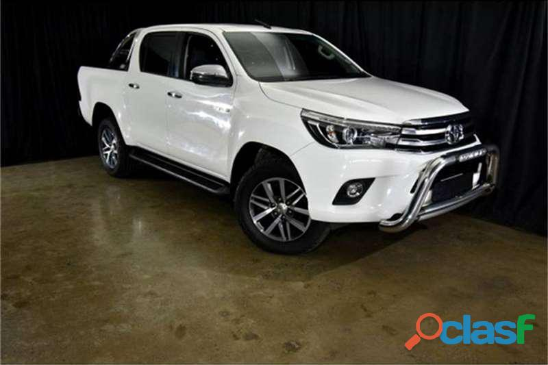 2018 toyota hilux 2.8gd 6 double cab 4x4 raider in good condition please call