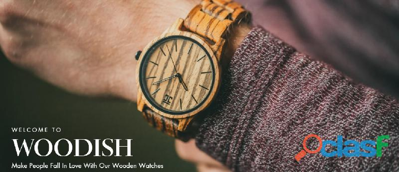 Wooden Watches & Wooden Sunglasses for Men and Women 2