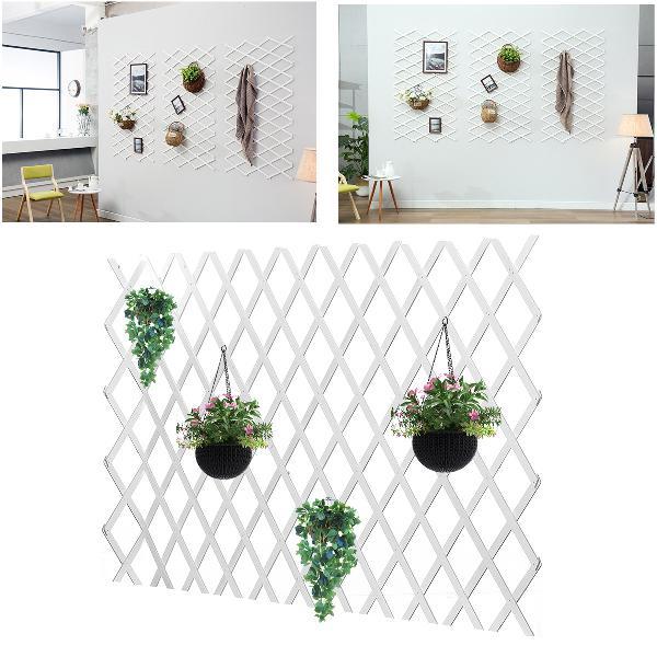 Anticorrosive wood pull net flower frame grid vine frame