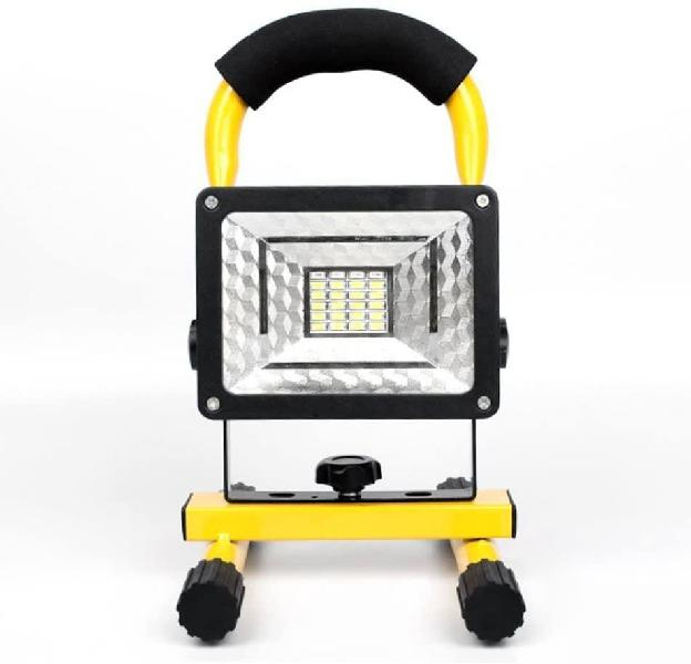 Led rechargeable outdoor floodlight - camping light 30w