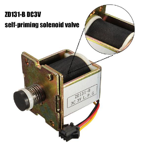Macro copper dc 3v gas water heater solenoid valve self
