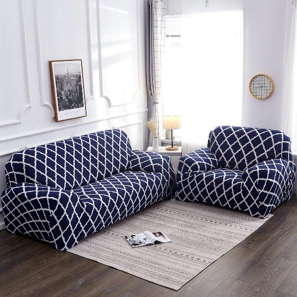 1/2/3/4 seater elastic sofa covers slipcover settee stretch