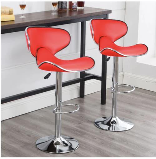 Butterfly backrest bar chair bar stools modern bar chairs
