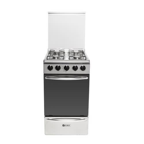 Zero appliances 4 burner stainless steel gas stove