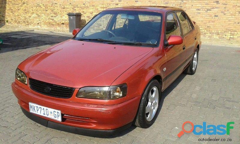 2001 Toyota Corolla RSI 1.6 in good condition for sale in Kokstad KZN