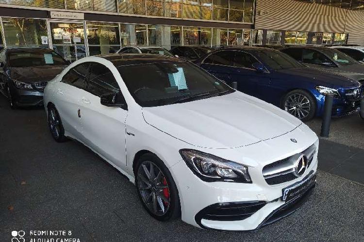 Mercedes benz cla amg 45 s 2016