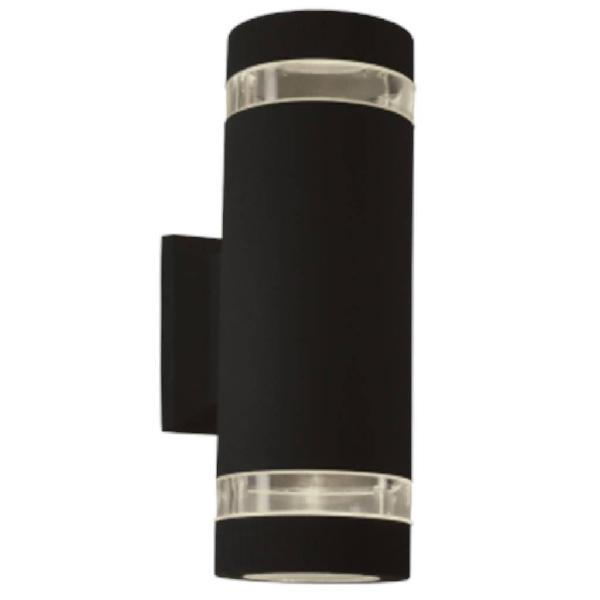 Bright star l131 black outdoor up & down facing cylindrical