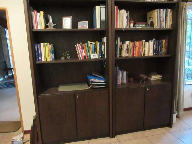 Imported ensslen european oak veneer office furniture set