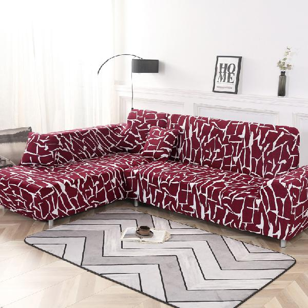 Kcasa 1/2/3/4 seat covers elastic couch sofa cover armchair