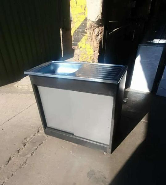 R1150 for rdp single sink steel cabinet with sliding steel