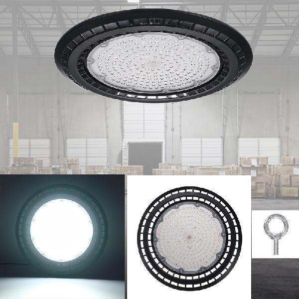 60/100/150/200W LED UFO High Bay Flood Light 6000K Warehouse