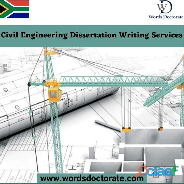 Civil engineering dissertation writing services