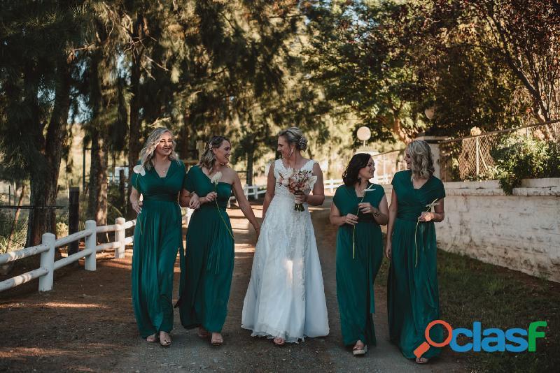 Infinity Bridesmaids dress