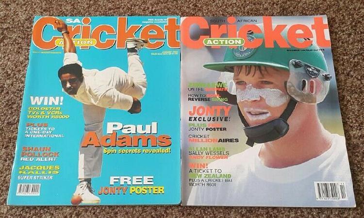 South African Cricket Team Memorabilia (90s)