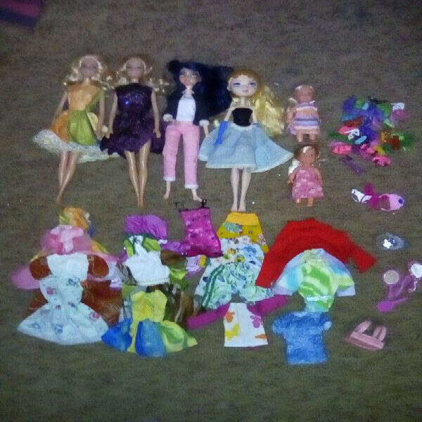Barbie and Ever After High Doll Lot