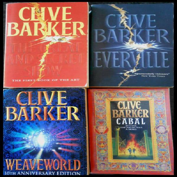 CLIVE BARKER 4X Pack SALE: The Great and Secret Show,