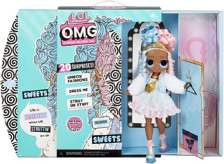 LOL Surprise OMG Sweets Fashion Doll - Dress Up Doll Set