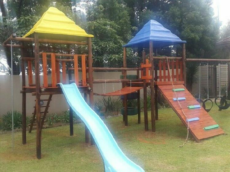 New jungle gym R15 500 free delivery free installation