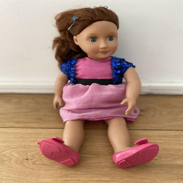 Our Generation Doll plus 3 sets of clothing