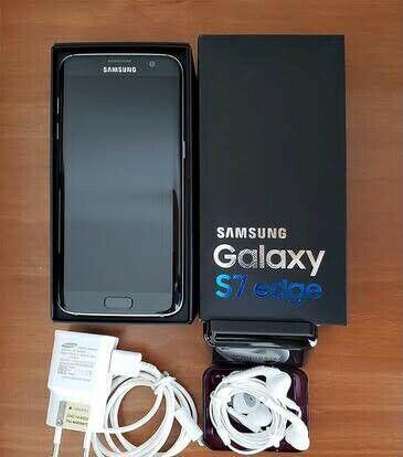 Samsung Galaxy S7 Edge 32gb black like new