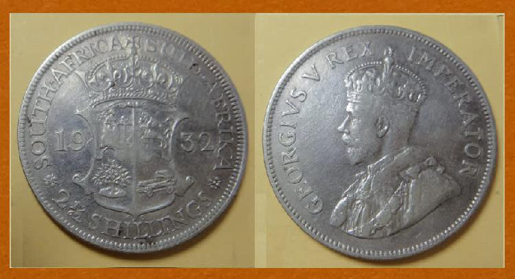 South African King George V cleaned 80% SILVER
