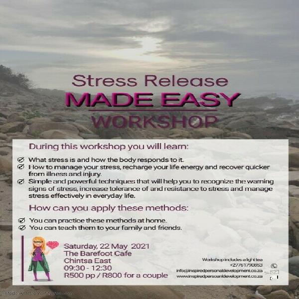 Stress Release Made Easy Workshop