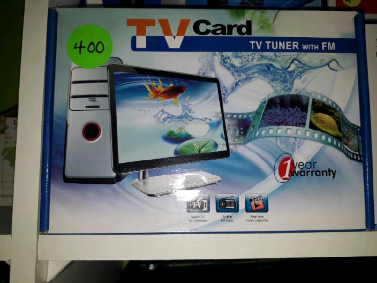 TV card with FM