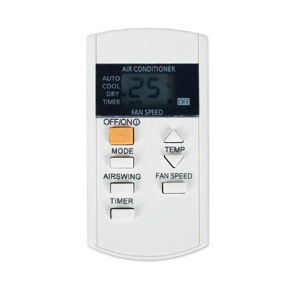 Air conditioner remote control suitable for panasonic a75