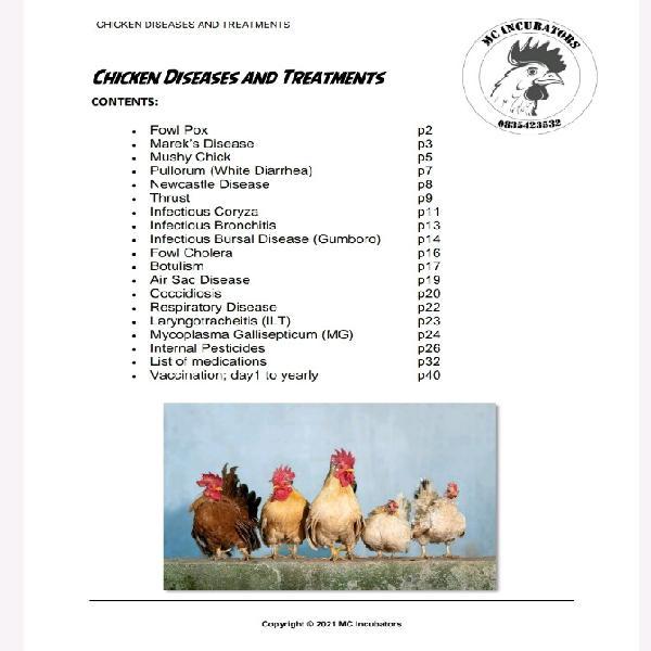 Chicken illness book