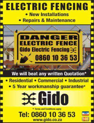 Electric fencing: installations, repairs and compliance