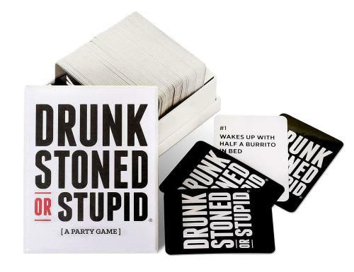 Drunk stoned or stupid a party game - 250 cards