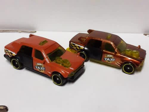 Hot wheels id chase time attaxi and main line combo set of 2