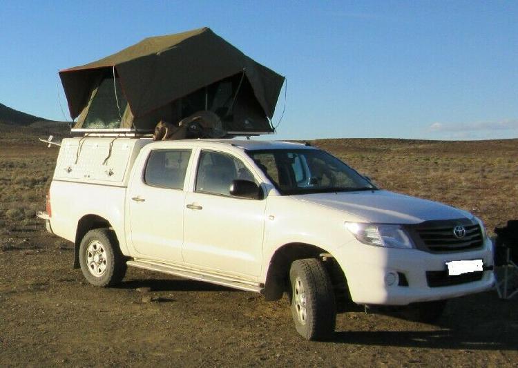 Rooftop tent, 1.2 x 2.4 tentco