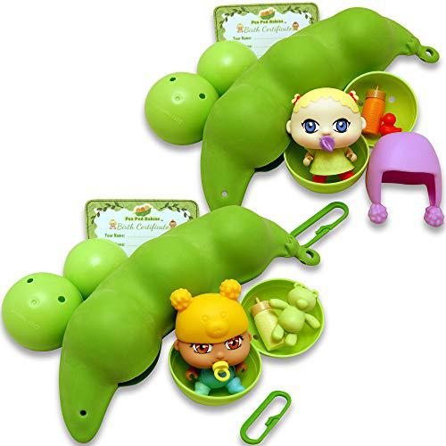 Thin air brands pea pod babies bundle set of collectible